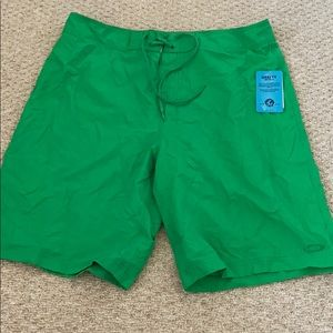 Men's Oakley Green swim Board Shorts
